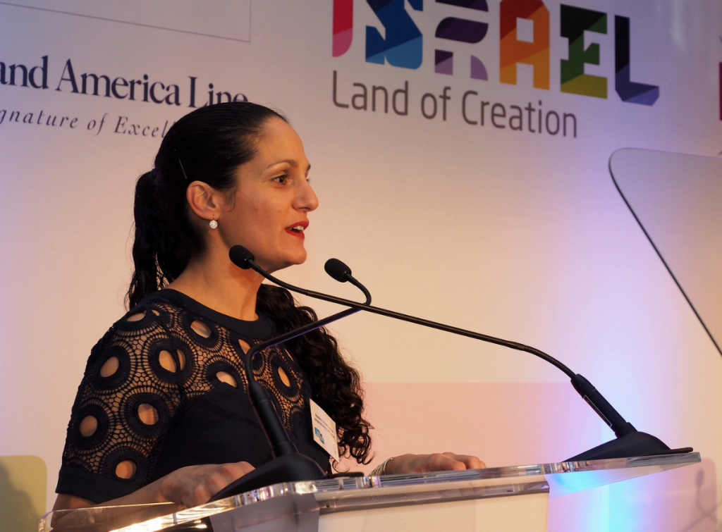 Headline Sponsor Naama Oryan Kaplan, Israel Government Tourist Office