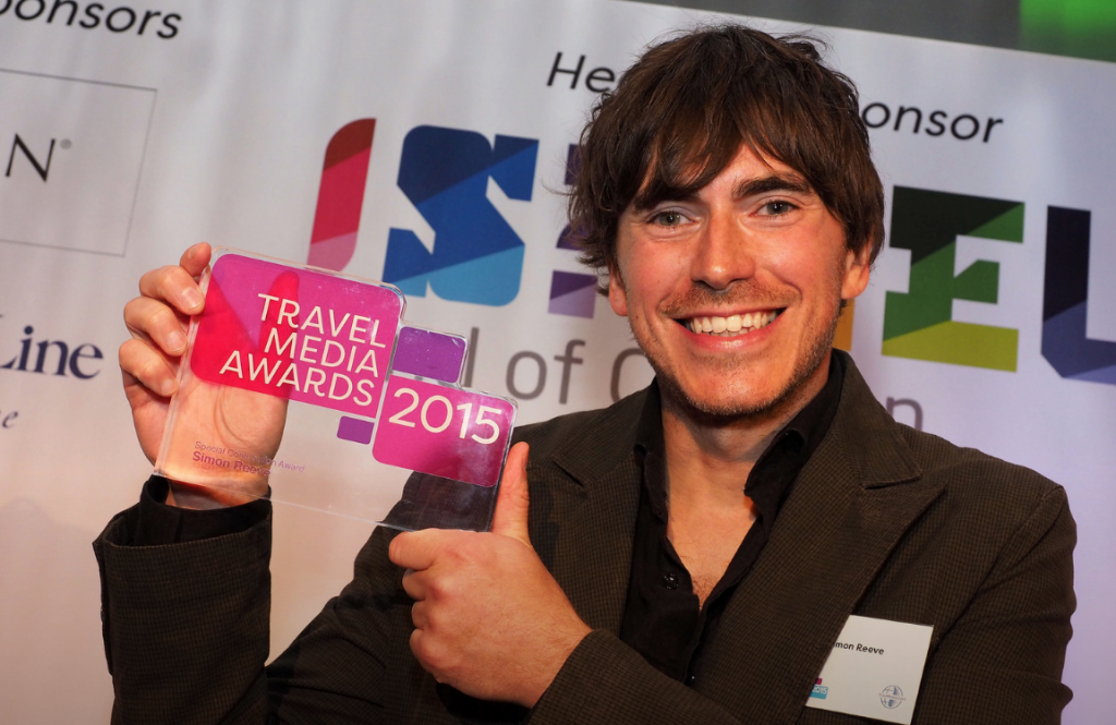 Special Contribution Award Winner Simon Reeve